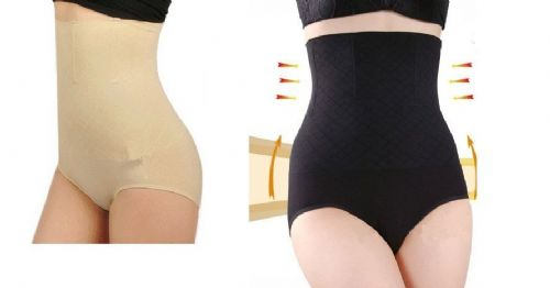 Women High Waist Slimming Tummy Bum Lift Control Briefs Knickers Shaperwear